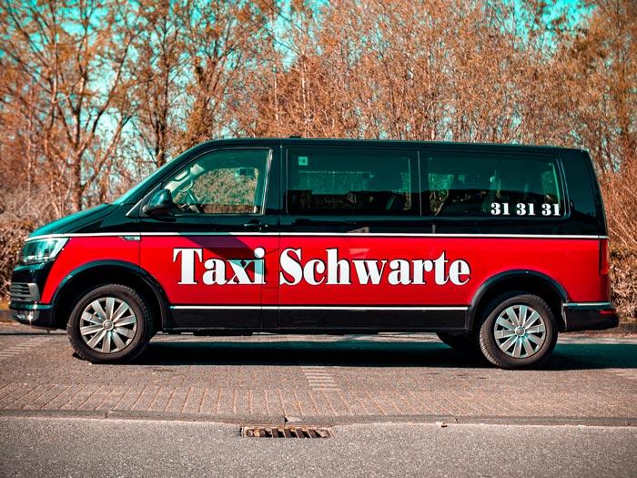 Fahrzeuge von Taxi Schwarte in Solingen