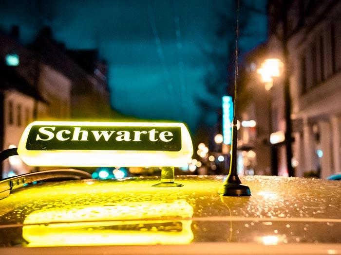Taxi Schwarte Kurierdienst in Solingen