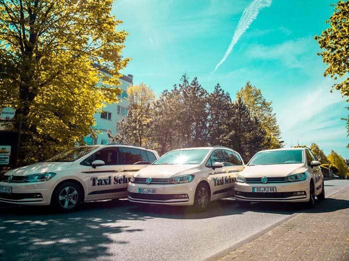 Moderne Taxi von Taxi Schwarte