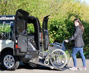 Taxi für Rollstuhlfahrer - Das Rollimobil von Taxi Schwarte in Solingen